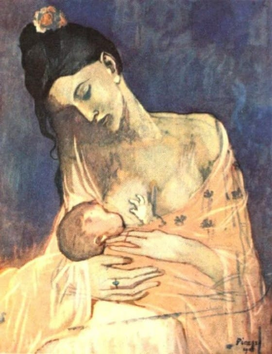 PABLO-PICASSO-MOTHER-AND-CHILD-3