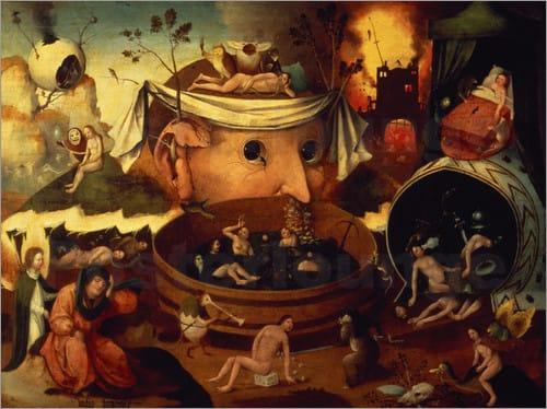 Hieronymus Bosch, Tondals Visionen